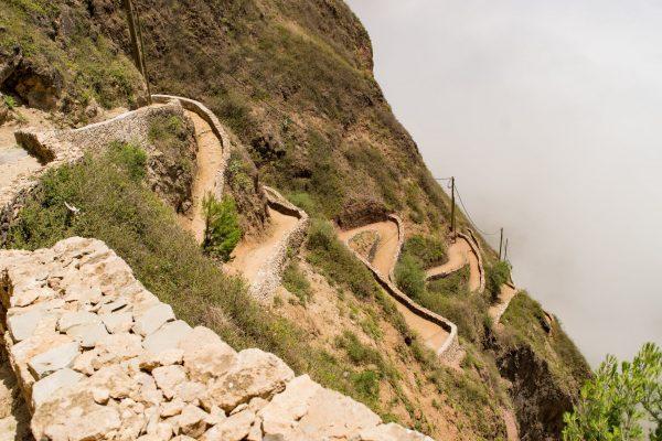 Santo Antão - estrada Corda - COMPRADA